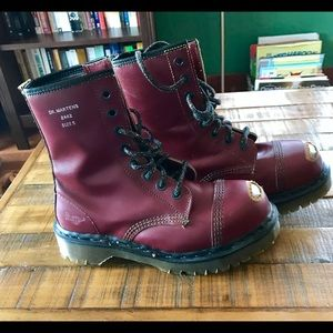 Exposed toe Doc Marten's, limited edition